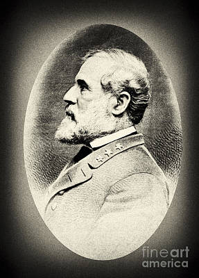 Photograph - Robert E Lee - Csa General by Paul W Faust -  Impressions of Light