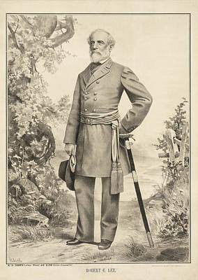 Robert E Lee Art Print by Bill Cannon