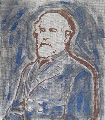 Robert E Lee Painting - Robert E. Lee by Jill Wells