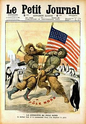 Robert Edwin Peary Art Print by Universal History Archive/uig