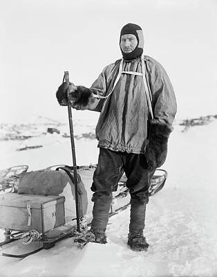 Hauling Photograph - Robert Forde by Scott Polar Research Institute