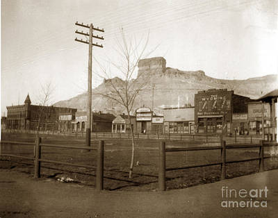 Photograph - Robert Freedman Established The Wyoming Saloon In Green River In 1891 by California Views Archives Mr Pat Hathaway Archives