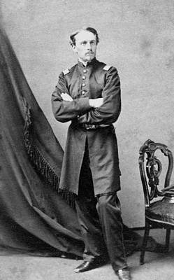 Colonel Wall Art - Photograph - Robert Gould Shaw by War Is Hell Store