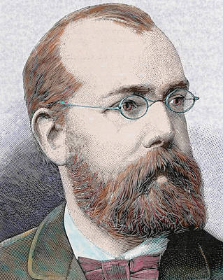 Balding Photograph - Robert Koch (clausthal, Near Hanover by Prisma Archivo