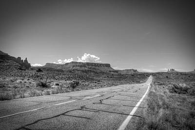 Photograph - Robert Melvin - Fine Art Photography - Highway 128 by Robert Melvin