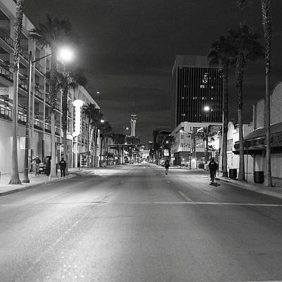 Robert Melvin - Fine Art Photography - Sin City - No Homeless Allowed Art Print