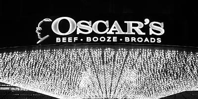 Photograph - Robert Melvin - Fine Art Photography - Sin City - Oscar's B B B by Robert Melvin