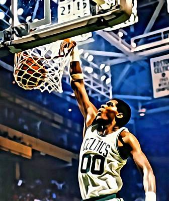 Robert Parish  Art Print