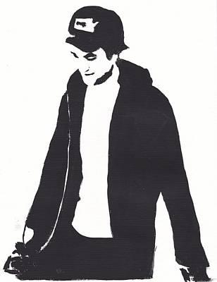 Robert Pattinson 111 Art Print by Audrey Pollitt