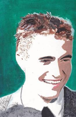Robert Pattinson 146 A Art Print by Audrey Pollitt