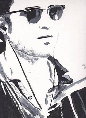 Robert Pattinson 151 Art Print by Audrey Pollitt