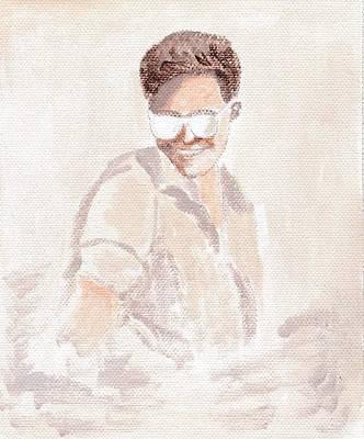 Robert Pattinson 182 Art Print by Audrey Pollitt