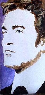 Robert Pattinson 219 Art Print by Audrey Pollitt