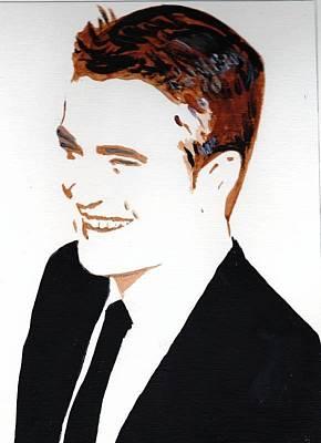 Robert Pattinson 87 Art Print by Audrey Pollitt