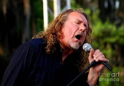 Photograph - Robert Plant 2 by Angela Murray
