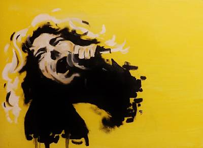 Painting - Robert Plant by Matt Burke