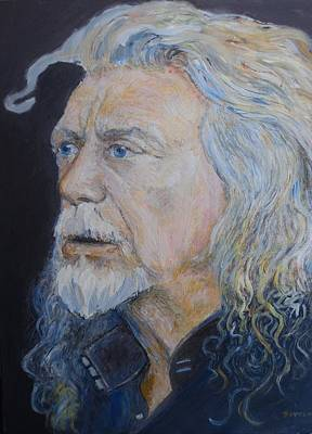 Painting - Robert Plant by Sandra Lytch