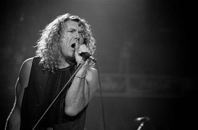 Robert Plant Performance Art Photograph - Robert Plant by Timothy Bischoff