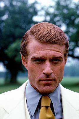 Robert Redford As Jay Gatsby Art Print by Duane Michals