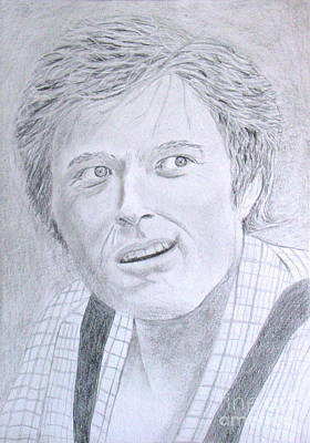 Wall Art - Drawing - Robert Redford by Cybele Chaves