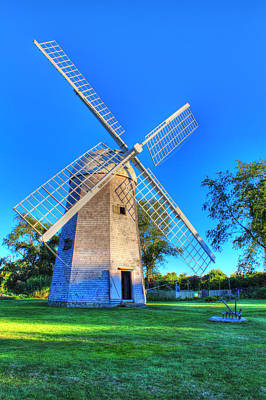 Robert Sherman Windmill Art Print