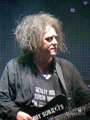 Photograph - Robert Smith The Cure by Anjanette Douglas
