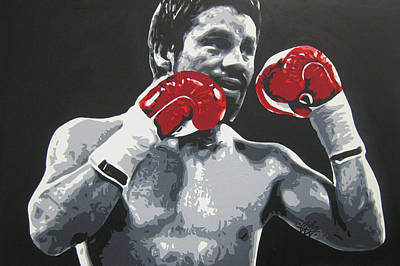 Painting - Roberto Duran 3 by Geo Thomson