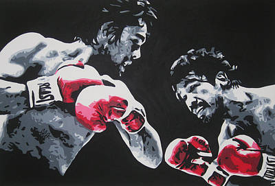 Painting - Roberto Duran 4 by Geo Thomson