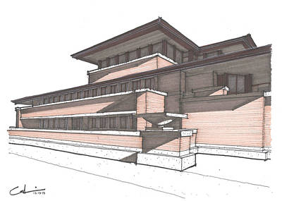 Robie House Original by Calvin Durham