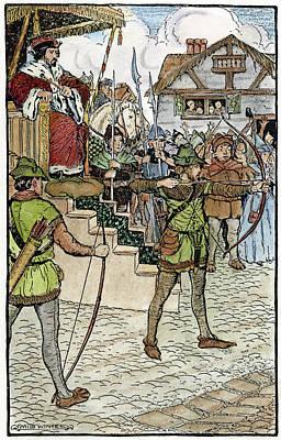 Robin Hood, 1914 Art Print by Granger