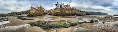 Photograph - Robin Hood's Bay Yorkshire England by Colin and Linda McKie