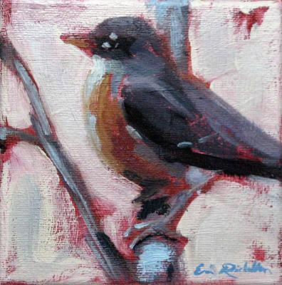 Painting - Robin II by Erin Rickelton