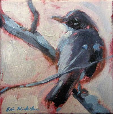 Painting - Robin IIi by Erin Rickelton