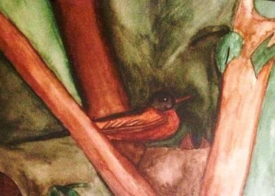 Painting - Robin by Natalee Parochka
