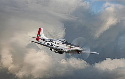Fighter Plane Digital Art - Robin Olds Scat Vll by Peter Chilelli