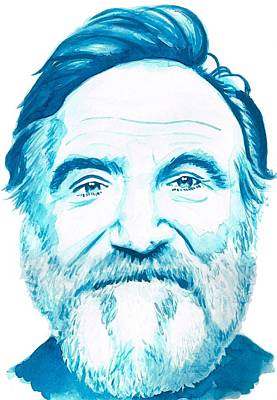 Robin Williams Art Print by Kyle Willis