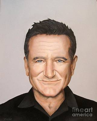 Painting - Robin Williams by Venus