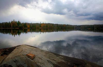 Photograph - Robinson Lake 2 by Jim Vance