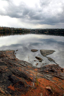 Photograph - Robinson Lake In Autumn by Jim Vance