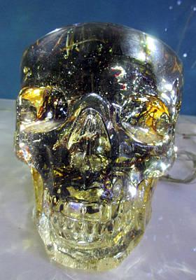 Photograph - Robo Skull by Randall Weidner
