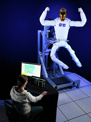 Extravehicular Activity Photograph - Robonaut 2 Research Laboratory by Nasa, Bill Stafford And Ron Sykora