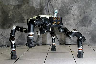 Electronic Photograph - Robosimian Robot by Jpl-caltech