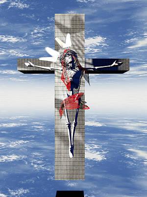 Buying Art Online Digital Art - Robotic Christ Made In Spain by Quim Abella