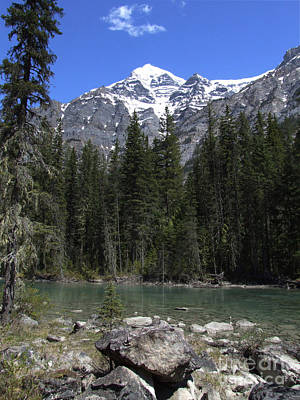 Art Print featuring the photograph Robson River - Canada by Phil Banks