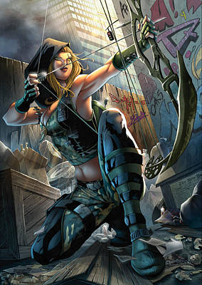 Robyn Hood 05a Art Print by Zenescope Entertainment