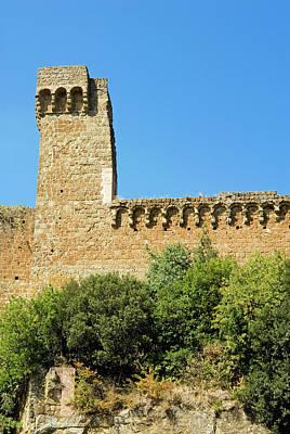 Rocca Aldobrandesca, (11th Century Print by Nico Tondini
