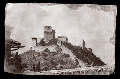 Photograph - Rocca Maggiore Castle by Prints of Italy