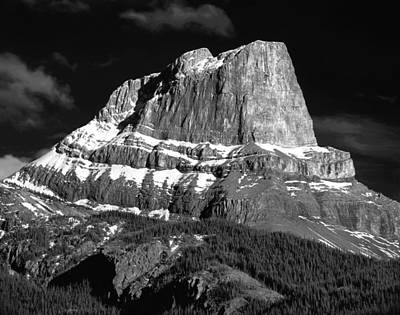 Photograph - 1m3937-bw-roche Miette Bw by Ed  Cooper Photography