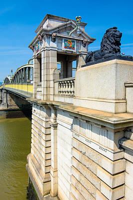 Photograph - Rochester Bridge by Jonah  Anderson