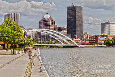 Xerox Photograph - Rochester By The River by William Norton